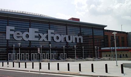 FedExForum Box