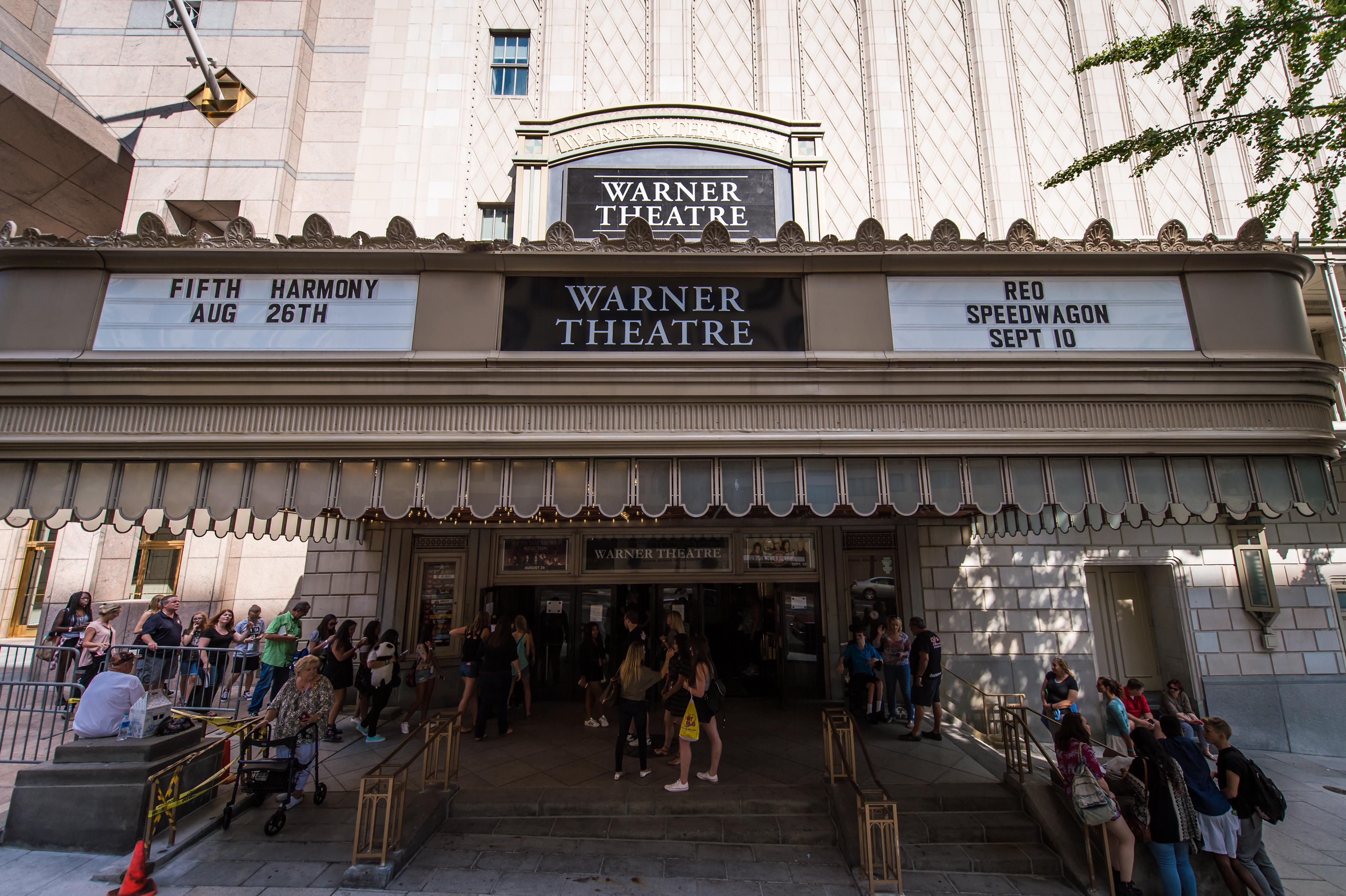 Warner Theatre Parking