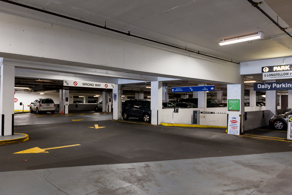 North Station Garage Parking Find