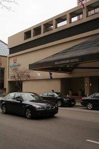 Millennium Hotel Parking