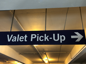 The landing at laguardia uncovered valet